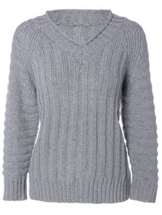 GET $50 NOW | Join RoseGal: Get YOUR $50 NOW!http://www.rosegal.com/sweaters/cable-knit-v-neck-sweater-752723.html?seid=5610578rg752723