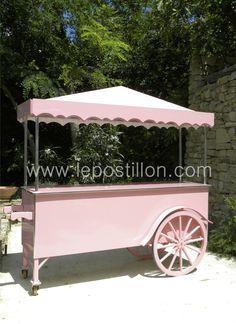 Charrette à glace - chariot - ice cream cart - ice cream cart