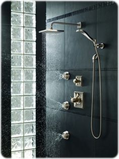 Walk In Shower With Carrara Marble Kohler Loure Fixtures