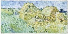 Champ aux meules de blé, 1890Champ aux meules de blé, 1890 Feld mit Getreideschobern Öl auf Leinwand, 50 x 100 cm Foto: Robert Bayer, Basel
