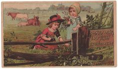 Trade Card Collection 042 - Dr. Kilmer's U&O Meadow Plant Anointment - Front.