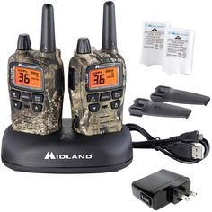 Midland - X-TALKER T75VP3, 36 Channel FRS Two-Way Radio - Up to 38 Mile Range Walkie Talkie, 121 Privacy Codes, and NOAA Weather Scan Alert (Pair Pack) (Mossy Oak Camo) >>> To view further for this item, visit the image link. (This is an affiliate link)