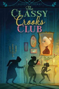 The Classy Crooks Club by Alison Cherry  (J CHE): Dreading the thought of having to spend a month with her strict grandmother, 12-year-old AJ is excited to learn that her grandmother's bridge club is actually a gang of vigilante thieves who teach AJ how to pick locks and invite her along on a few madcap heists.