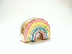 pastel rainbow figure