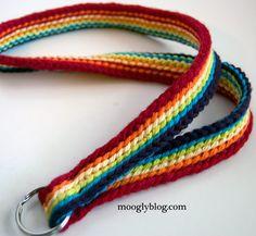 Free Pattern: Rainbow Lanyard