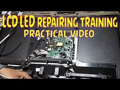LCD LED repairing practical video - YouTube Tv Backlight, Tv Panel, Dip, Electronics, Youtube, Tv Feature Wall, Salsa, Youtubers, Consumer Electronics