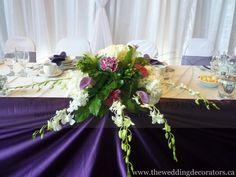 bride/groom table centerpeice similar to mine
