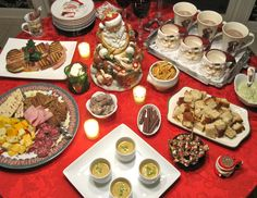 christmas eve snacks - Christmas Eve Snacks