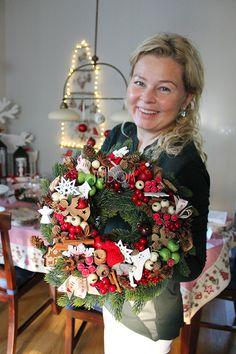 christmas wreath - tendom.pl