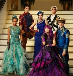 I really liked this movie!! Was like really good????? Disney Descendants 2