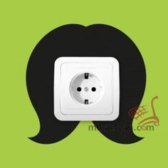 Stickers for Plugs & Switch Buttons>Hairstyle cut 2 for sale from 3.90 #wall #art #stickers #decal