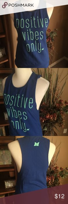 Positive Vibes Only Tank Larger arm holes.  TKu Tops Tank Tops