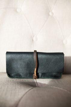Jo for Mavenhaus Collective | Dakota Clutch/Wallet in Midnight Green *NEW* #slowfashion #mavenhauscollective