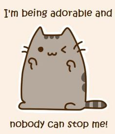 Pusheen is so.no words can describe Thy pusheen Pusheen Shirt, Pusheen Love, Pusheen Stuff, Pusheen Plush, Crazy Cat Lady, Crazy Cats, Weird Cats, Silly Cats, Pusheen Stormy