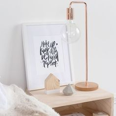 Bedside table perfection! We love how @lilyjaneboutique has styled her #freedomnz Copper Metro Table Lamp ($149) we are so thrilled to have this amazing lamp in stock again! #stylebyfreedom #regram #freedomnzAW15
