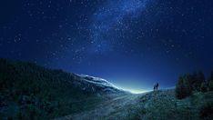 Wallpaper Windows 10, Star Wallpaper, Original Wallpaper, Starry Night Light, Night Sky Stars, Night Skies, Gordon Parks, Milky Way, Cover Photos