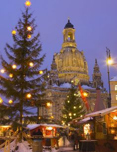 size: Photographic Print: Christmas Market in the Neumarkt with the Frauenkirche (Church) in the Background by Miles Ertman : Artists Christmas In Germany, German Christmas Markets, Christmas In Europe, Christmas Travel, Christmas Photos, Winter Christmas, Christmas Lights, Christmas Holidays, Christmas Collage