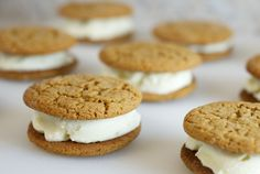 Molasses Spice Cookies & Ginger Ice Cream