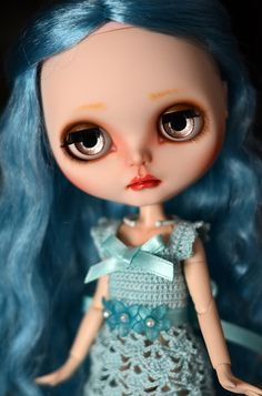 Blue mode girl by Art_emis, via Flickr