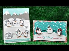 Step by step video on creating a pop-up winter card, using stamps and dies by Lawn Fawn. BLOG POST: https://goo.gl/kk5LDJ ——— S U P P L I E S ——— • Lawn Fawn...