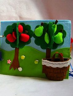 Quiet book   Learning toy   Busy book   Busy activity   Learning book game   The tree , co... $15