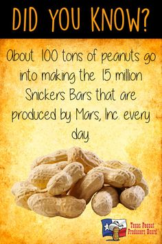 How much do you know about #peanuts? Did you know?