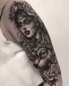 Big session for Julia! Thank you so much for travelling from Sweden to get tatto. Gypsy Tattoo Design, Sketch Tattoo Design, Tattoo Designs, Tattoo Ideas, Pin Up Tattoos, Badass Tattoos, Head Tattoos, Dragon Tattoos, Gypsy Tattoo Sleeve