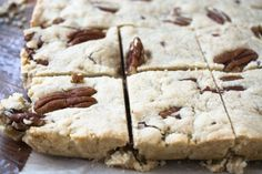 Butter Pecan Shortbread is a buttery treat made with just a few ingredients. (Add 1/4 tsp. salt) tvfgi