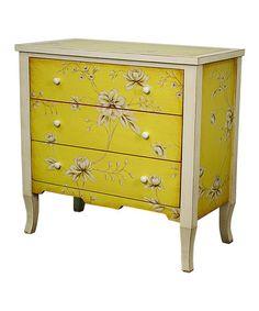 Love this Three-Drawer Vicenza Cabinet on #zulily! #zulilyfinds