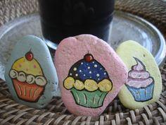 Delicious Cupcake Rocks