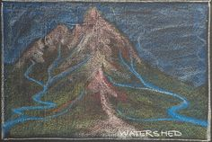"""Check out my set """"Most Interesting here! Visit my Waldorfschool/Steinerschool related pinboards here! Ancient Aliens, Ancient History, History Medieval, Medieval Times, Ancient Egypt, Chalkboard Drawings, Chalkboard Lettering, North America Geography, 5th Grade Geography"""