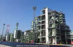 Production of next generation biofuel in Rotterdam. This is the largest second generation biodiesel plant in the world.
