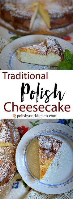 Authentic Polish cheesecake recipe by polishyourkitchen… – Rezepte Polish Cheesecake Recipe, Cheesecake Recipes, Dessert Recipes, Butter Chocolate Chip Cookies, Chocolate Pies, Russian Recipes, Ukrainian Recipes, German Recipes, Hungarian Recipes
