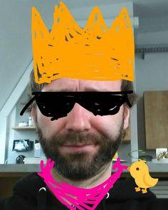 Dieses Gesichtsfilter sind auf #Snapchat ja der absolute Schrei gerade. Da mach ich natürlich auch mit!