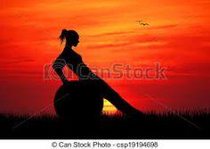 Resultado de imagem para pilates at sunset