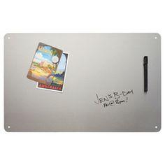 Stainless Steel Frameless Magnetic Dry Erase Board