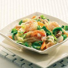Resep Capcay Goreng Sayuran Mix Bakso