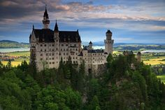 A man's house may be his castle, but THIS is indisputably a CASTLE. Neuschwanstein Castle, Germany