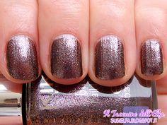 Glitter Nail Lacquer 408 Chemical Purple Dashing Holidays Kiko