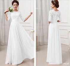 zdjęcie Maxi dress long dress sukienka koronka w pełnej rozdzielczości