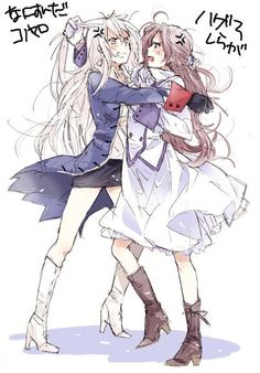 Fem!Prussia and Fem!Austria Well, this is kind of funny ^^