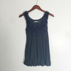 Slate Navy Tank The most comfortably stylish top! You will love it! Kimchi Blue Tops Tank Tops