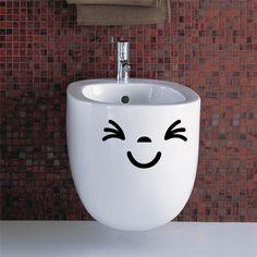 Waterproof bathroom toilet sticker door glass stickers wall decal home decoration vinyl art pvc posters