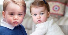 Charlotte und Georgekönnten glatt als Zwillinge durchgehen.