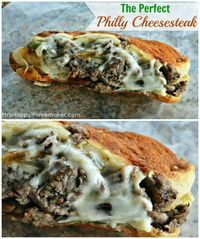 The Perfect Restaurant Quality Philly Cheesesteak - only made easily at home! The Perfect Restaurant Quality Philly Cheesesteak - only made easily at home! I Love Food, Good Food, Yummy Food, Tasty, Philly Cheese Steaks, Steak And Cheese Sub, Steak Sandwich Recipes, Steak Sandwiches, Philly Steak Sandwich