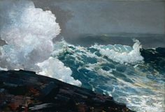 Winslow Homer -Northeaster , 1895