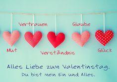 Alles Liebe zum Valentinstag | Liebe | Echte Postkarten online versenden…