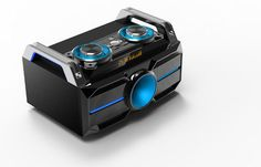 BOOMBOX TOWER USB SD BLUETOOTH FM LINE REC
