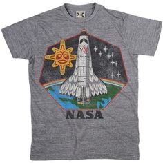 Men's Native American T-Shirt | Cool NASA Tees | Vintage Space TShirts | PalmerCash