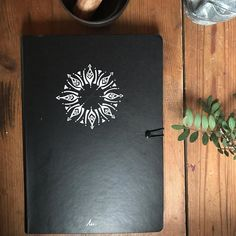 Another notebook that I hand painted.